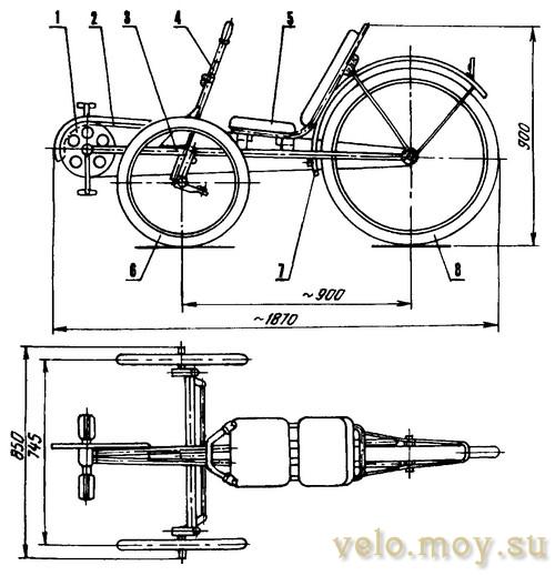 Велоколяска