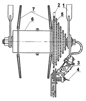 Многоскоростная втулка автоматического переключения скоростей